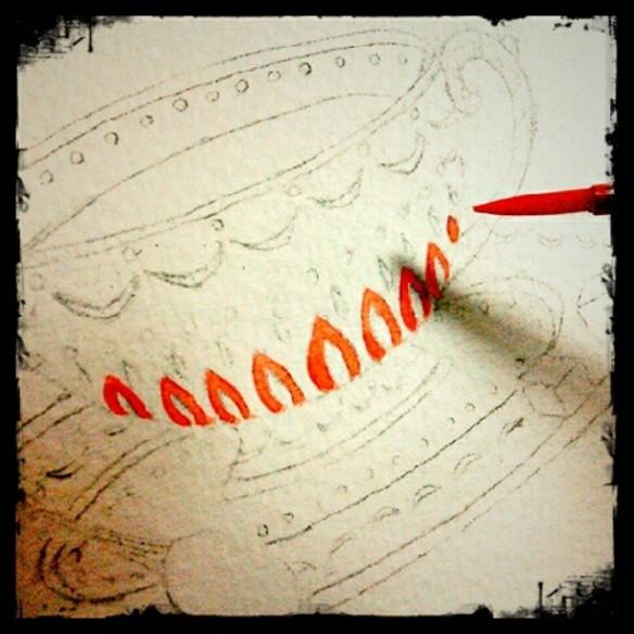 Painting Teacup
